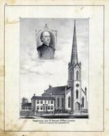 Father Francis Lawley, Parsonage and St. Vincent DePaul Church