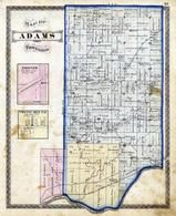 Adams Township, Eel River, Twelve Mile, Hoover, Cass County 1878