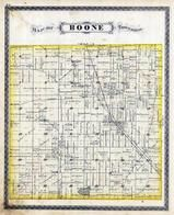 Boone Township, Indian Creek, Royal Center, Cass County 1878