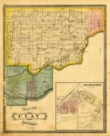 Clay Township, Adamsboro, Eel River, Logansport, Metchinequea Reserve, Cass County 1878