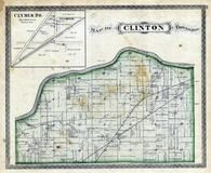 Clinton Township, Clymer, Wabash River, Keeps Creek, Cass County 1878