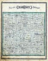 Harrison Township, Oak Grove, Indian Creek, Cass County 1878
