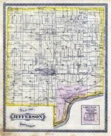 Jefferson Township, Lakeville, Wabash River, Georgetown, Cigott Lake, Cass County 1878