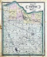 Tipton Township, Dow, Onward Station, Wallton, Walbaum, Anoka, Cass County 1878