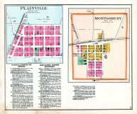 Plainville and Montgomery, Daviess County 1888