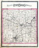 Concord Township, Orange, Blair P.O., Spencerville, DeKalb County 1880