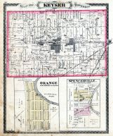 Keyser Township, Orange, Spencerville, Altona, Garrett, DeKalb County 1880