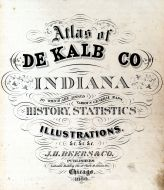 Title Page, DeKalb County 1880