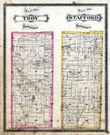 Troy Township, Stafford Township, DeKalb County 1880