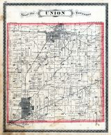 Union Township, Auburn, Waterloo, DeKalb County 1880