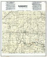 Liberty Township, Delaware County 1887