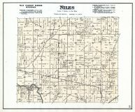 Niles Township, Delaware County 1887