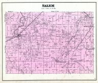 Salem Township, Delaware County 1887