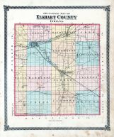 County Sectional Map, Elkhart County 1874
