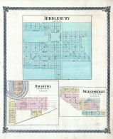 Middlebury, Bristol, Millersburgh, Elkhart County 1874