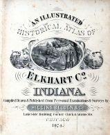 Title Page, Elkhart County 1874