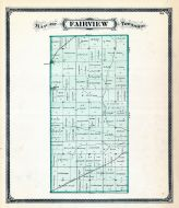 Fayette County 1875 Indiana Historical Atlas