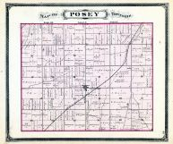 Posey Township, Fayette County 1875