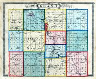 County Map, Grant County 1877