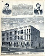 Union Block Kokomo, W. and H. Styer, Dixon and co., Dolman and Purdum, Pattison and Gates, Will Haseltine