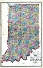 State Map, Huntington County 1879