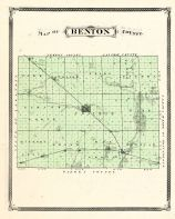 Benton County, Indiana Counties 1876