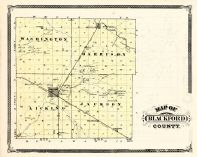 Blackford County, Indiana Counties 1876