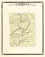 Brown County, Indiana Counties 1876