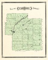 Carroll County, Indiana Counties 1876