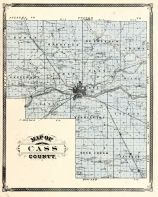 Cass County, Indiana Counties 1876