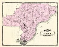Clark County, Indiana Counties 1876