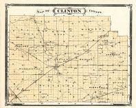 Clinton County, Indiana Counties 1876