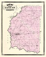 Daviess County, Indiana Counties 1876
