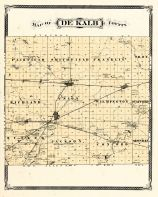 De Kalb County, Indiana Counties 1876