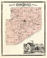 Decatur County, Indiana Counties 1876
