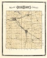 Elkhart County, Indiana Counties 1876
