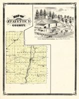 Fayette County, Indiana Counties 1876