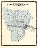 Floyd County, Indiana Counties 1876