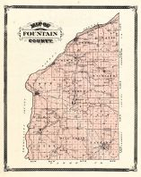 Fountain County, Indiana Counties 1876