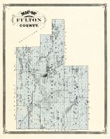 Fulton County, Indiana Counties 1876