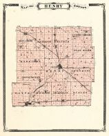 Henry County, Indiana Counties 1876