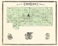 Howard County, Indiana Counties 1876