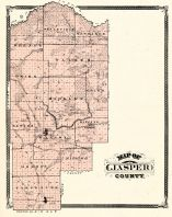 Jasper County, Indiana Counties 1876