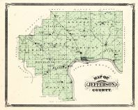Jefferson County, Indiana Counties 1876