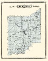 Jennings County, Indiana Counties 1876