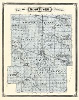 Kosciusko County, Indiana Counties 1876