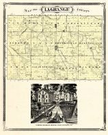 La Grange County, Indiana Counties 1876