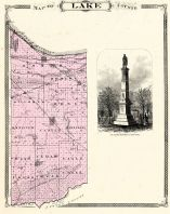 Lake County, Indiana Counties 1876