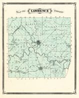 Lawrence County, Indiana Counties 1876