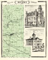 Miami County, Indiana Counties 1876
